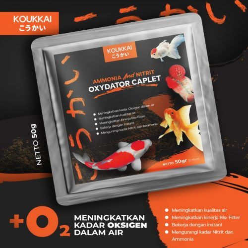 Jual Produk Koukkai Ammonia & Nitrite Oxydator Caplet