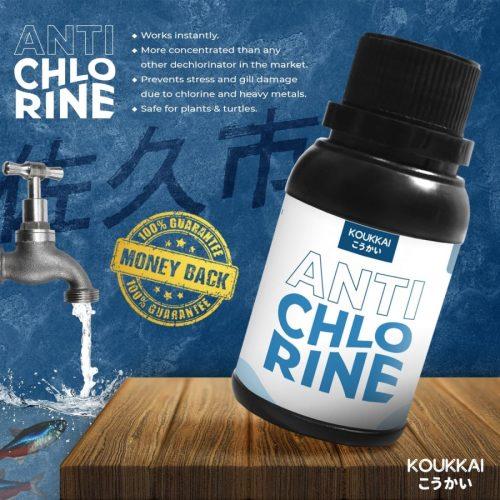Jual Produk Koukkai Penghilang Kaporit sebagai Aquasafe