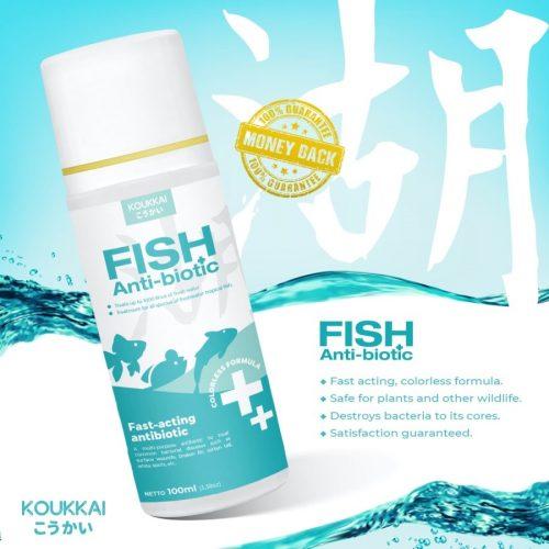 Jual Obat Antibiotik untuk Ikan Hias
