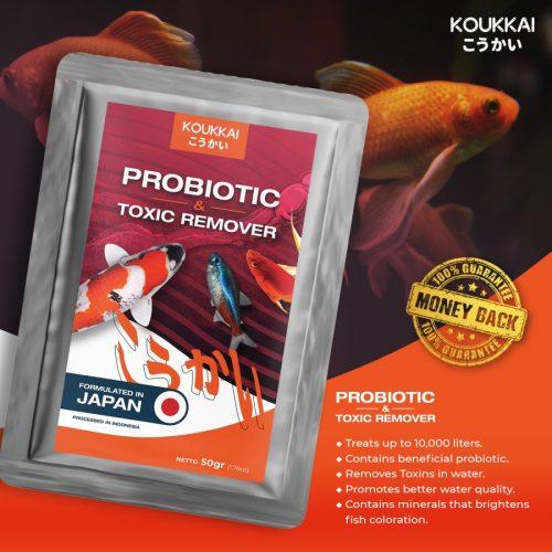 Jual Produk Koukkai Probiotic & Toxin Remover Aman 100%